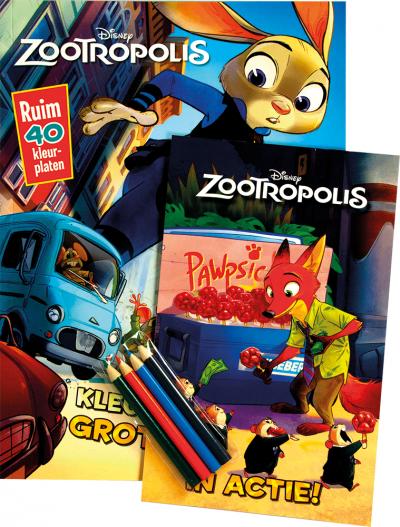 Disney zootropolis activity pack