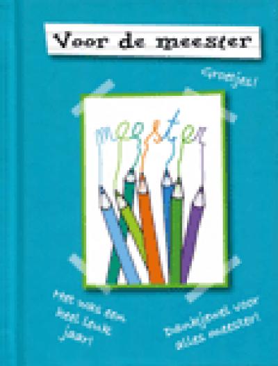 Voor de meester miniatuurboek