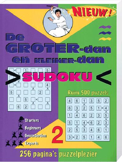 Groter dan kleiner dan Sudoku 1