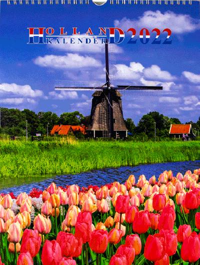 Kalender Holland A3 20222