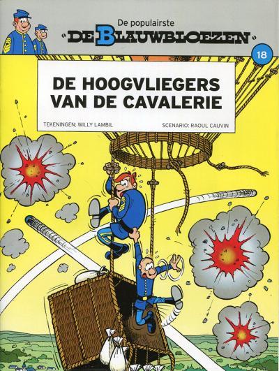 Blauwbloezen nr. 18 - De hoogvliegers van de cavalerie