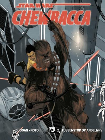 Star Wars Chewbacca Tussenstop op Andelm-IV (2/2)