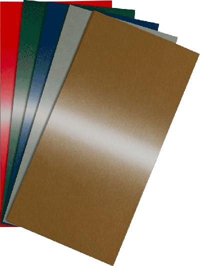 Schaduw karton 25 vel 5 kleuren