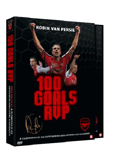 Dvd 100 Goals Robin van Persie