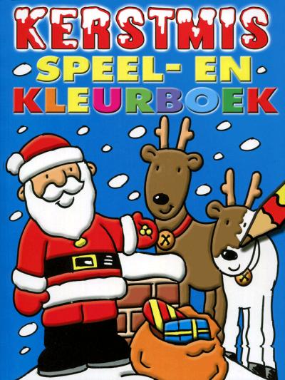 Kerstmis speel- en kleurboek