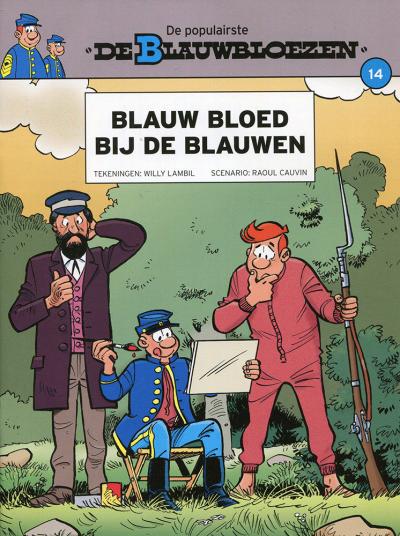 Blauwbloezen nr. 14 - Blauw bloed bij de blauwen