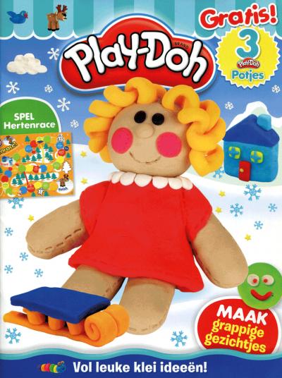 Play-Doh activity 4 + cmc 3 potjes klei