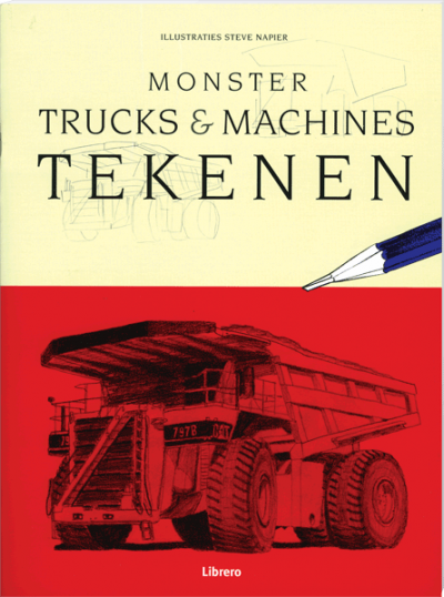 Monstertrucks & Machines tekenen