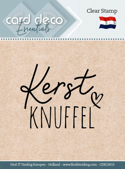 Clear Stamp Kerst Knuffel
