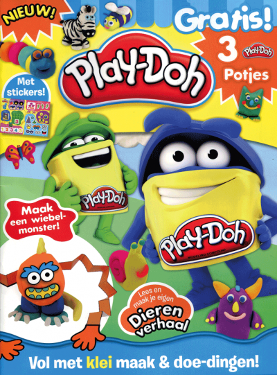 Play-Doh act 1701 + potje klei