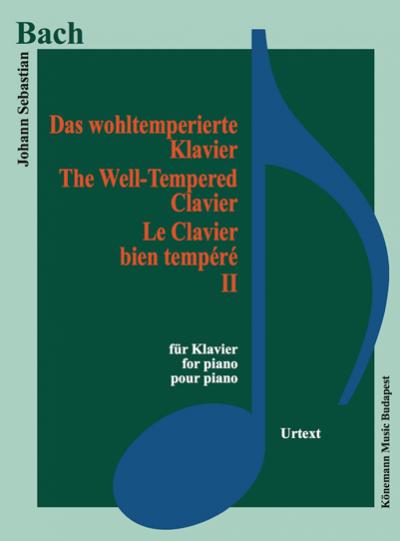Das wohltemperierte klavier II