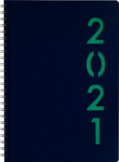 Dagagenda wire-o 2021 Groen