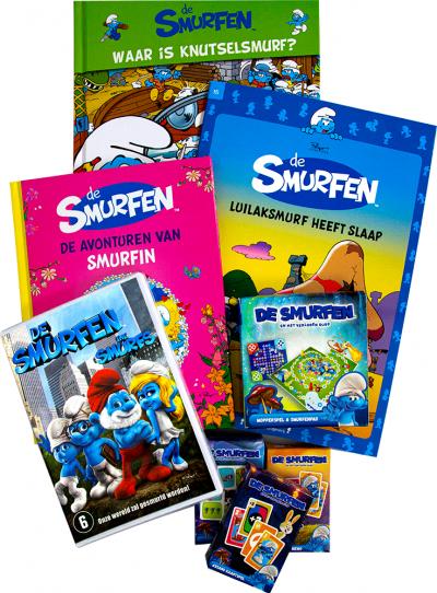 Smurfen pakket met gratis DVD