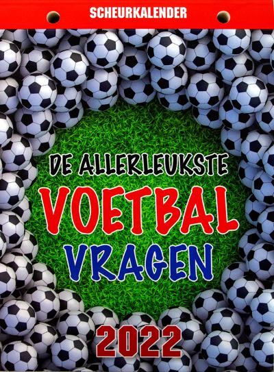 Scheurkalender 2022: Voetbal