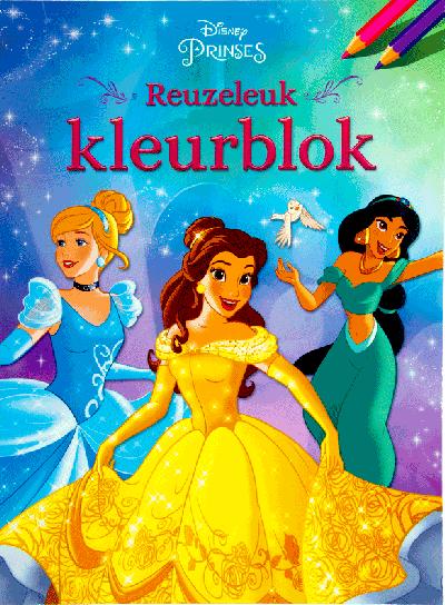 Disney Prinses reuzeleuk kleurblok