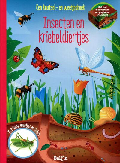 Insecten en kriebeldiertjes - een knutsel- en weetjes boek