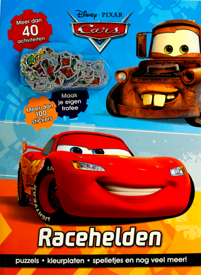 Disney Cars Racehelden act+st.