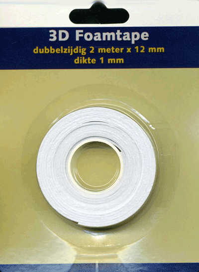 3D foamtape 1mm