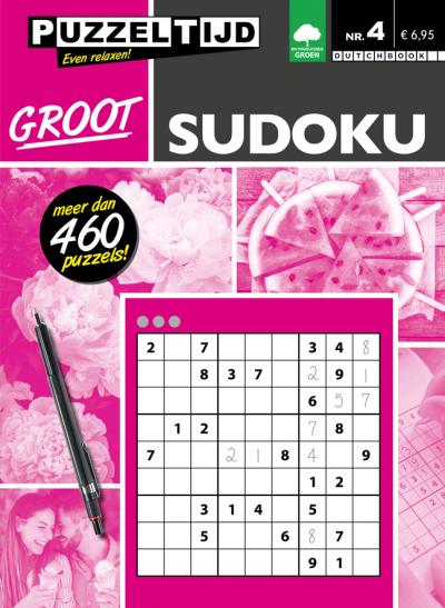 Puzzeltijd Groot sudoku nr.4