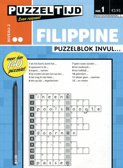 Puzzelblok filippine mesotic nr.1