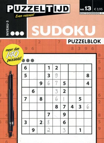 Puzzelblok sudoku 3 punt nr. 13