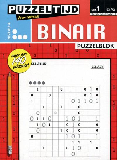 Puzzelblok binair 4 punt nr. 1