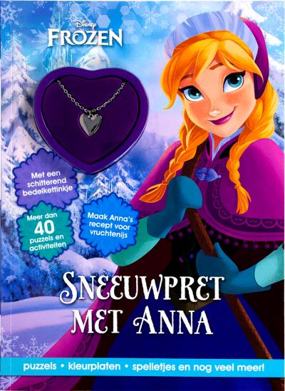 Disney Frozen Sneeuwpret anna+ketting