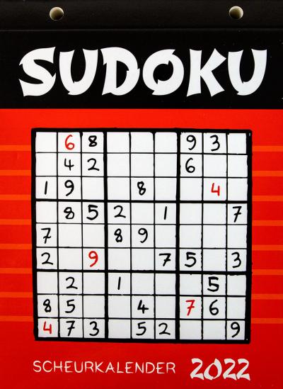 Scheurkalender 2022: Sudoku