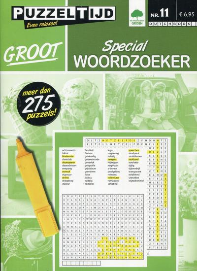 Puzzelboek groot special woordzoeker nr. 11
