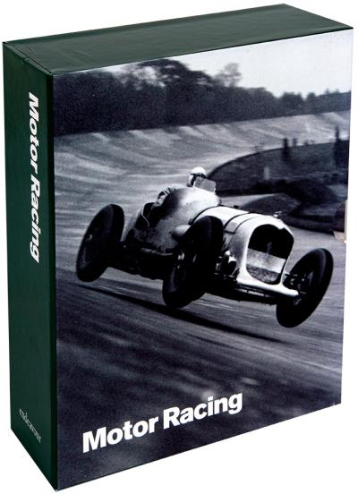 Photo greeting card collection motor racing