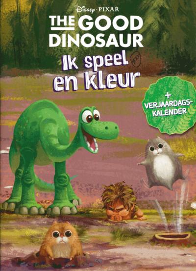 The Good Dinosaur Ik speel en kleur