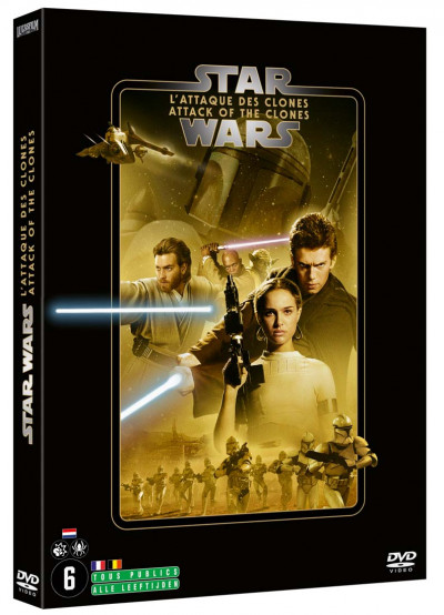 Star Wars Episode 2 - Attack Of The Clones - DVD