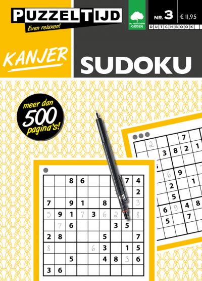 Puzzeltijd puzzelboek kanjer sudoku nr.3