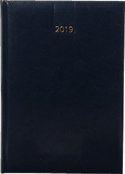 Business timer bureau agenda 2019 donkerblauw nr 104