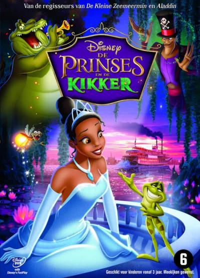 Prinses En De Kikker (Princess & The Frog) - DVD