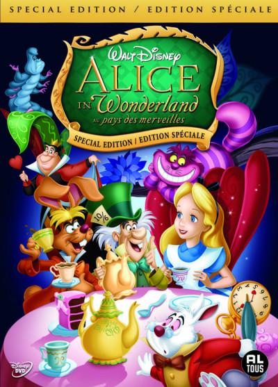 Alice In Wonderland - DVD