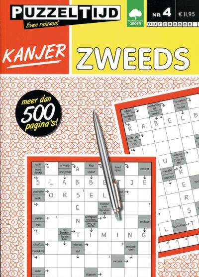 Puzzelboek Kanjer Zweeds nr. 4