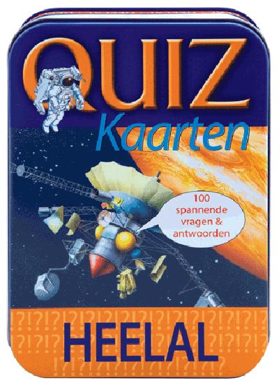 Quiz kaarten heelal