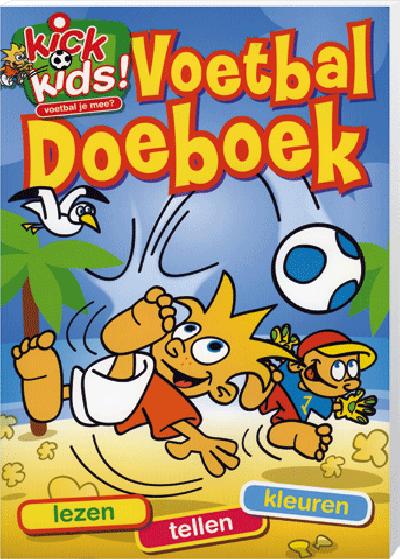 Kick Kids Voetbal Doeboek
