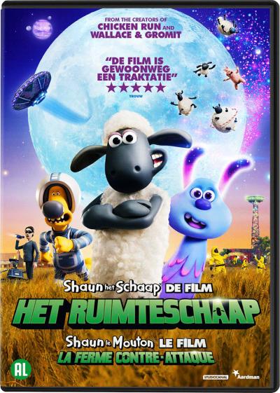 Shaun Het Schaap 2 - Het Ruimteschaap - DVD