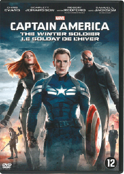 Captain America - The Winter Soldier - DVD