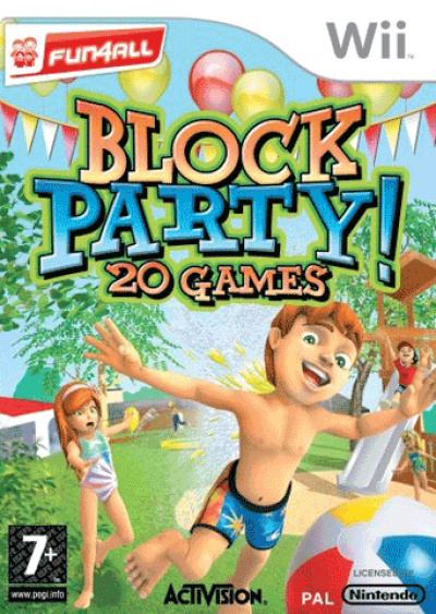 Wii Block Party 20 Games