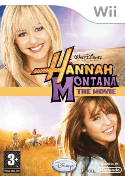 Wii Hannah Montana The Movie