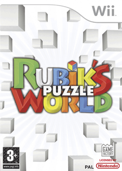 Wii Rubik's Puzzle Word