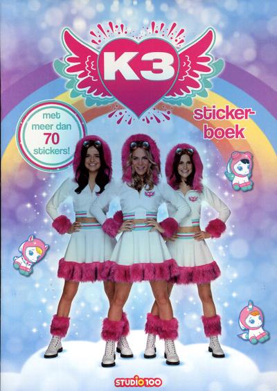 K3: stickerboek - dromen
