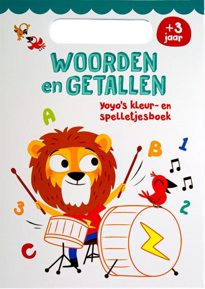 Woorden en Getallen 3+ Yoyo's kleur- en spelletjesboek