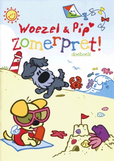 Wonderbaar Woezel & Pip zomerpret doeboek - Speel -en/of leerboek - 0-4 jaar QZ-63