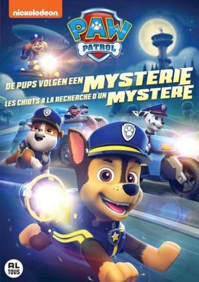 Paw Patrol - De Pups Volgen Een Mysterie - DVD