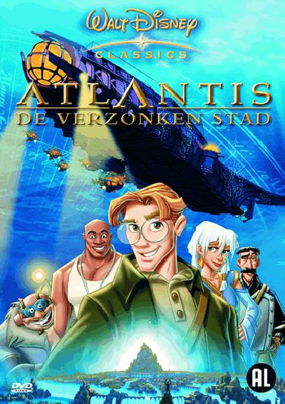 Atlantis - De verzonken stad - DVD