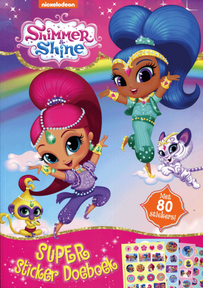 Shimmer & Shine doeboek